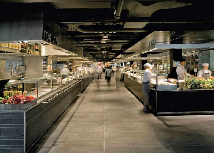 Commercial Indoor Cafeteria