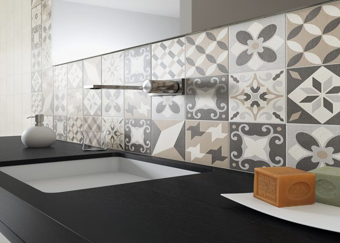 A Warm Glazed Porcelain Wall and Floor Tile