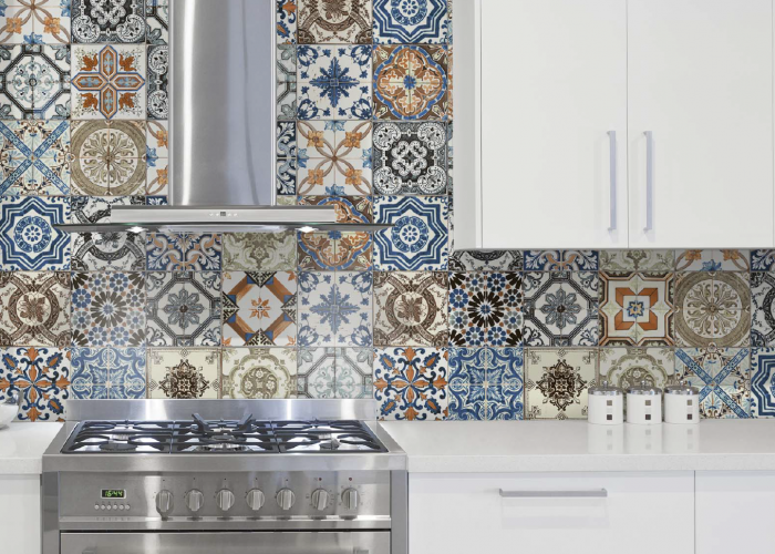 Morroccan Inspired Floor and Wall Tile