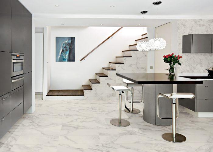 Modern Kitchen Stairs