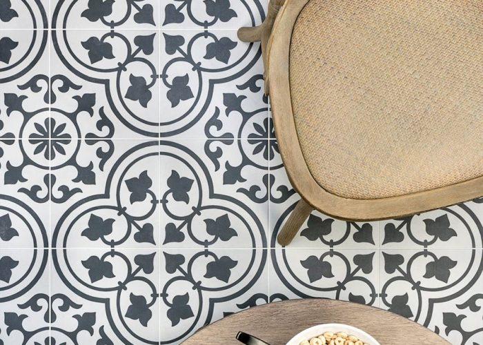 Durable, Classic Pattern Porcelain Tile