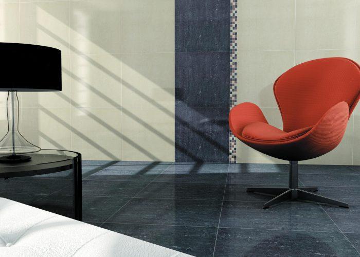 Striking Floor Tile